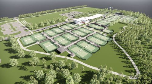 Photo: Regional Racquet Center Rendering